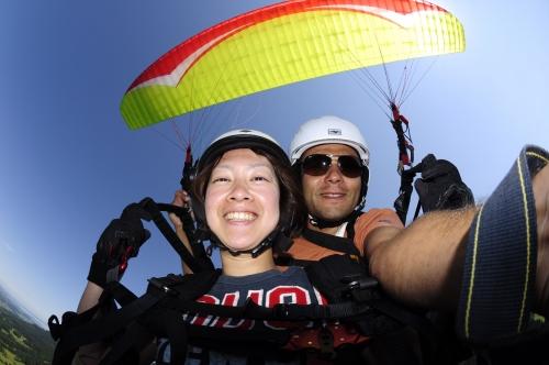 Paragliding Bilder