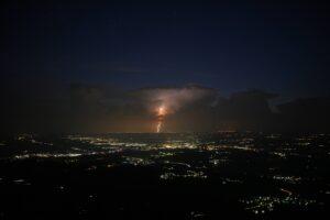 Blitzeinschlag München Bild Hochriesgipfe