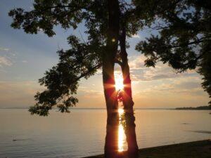 Chiemsee Sundowner Übersee