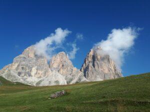 Gleitschirm Fluggebiet Drei Zinnen in Südtirol Wetter Wolken