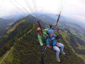 Paragliding Gleitschirm Tandemsprung Geschenkgutschein