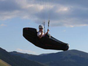 Streckenfliegen Gleitschirm Paragliding Profi