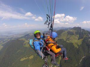 Kampenwand Gleitschirm Tandemsprung Geschenk