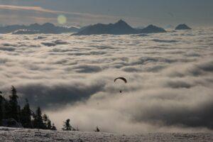 Paragliding Gleitschirmflug Inntal Wendelstein