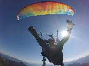 Freude Tandemgleitschirmflug Paragliding Gutschein