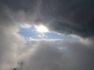 Himmelstor Gleitschirmfliegen Wolken