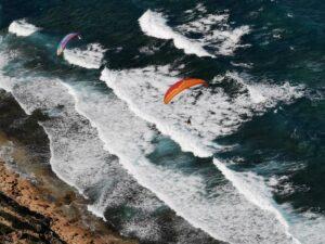 Gleitschirmfliegen Sardinien Küstensoaring Paragliding