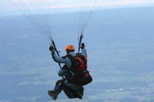 Tandemsprung Gutschein Paragliding Chiemsee
